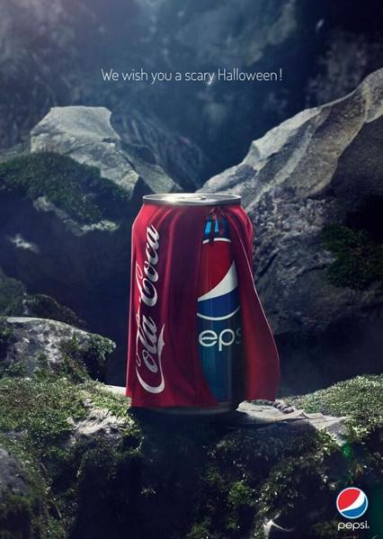Halloween Pepsi