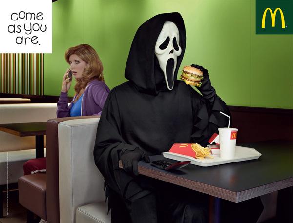 McDonald's pub halloween