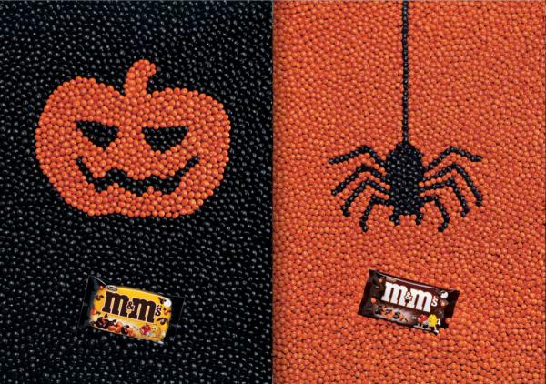 M&M's pub halloween